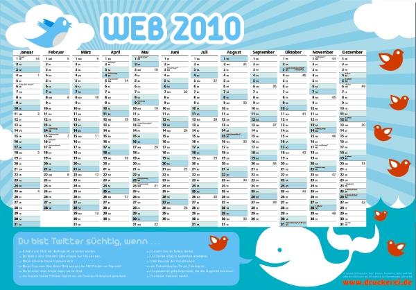 Twitter-Jahreskalender