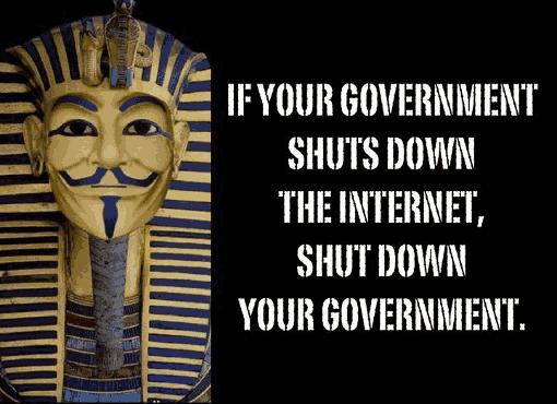 Ägyptischer Anonymous