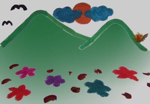 Die Berge des Glücks