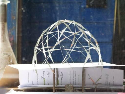Eiförmiger Dome