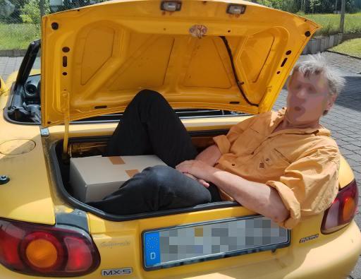 Der alte Beifahrer